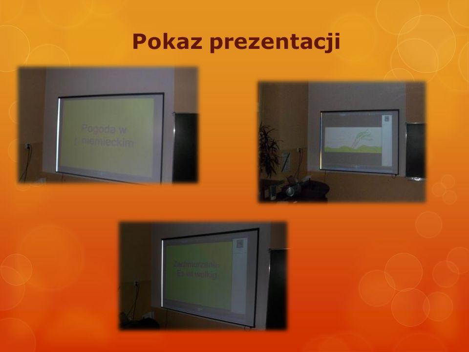 Pokaz prezentacji