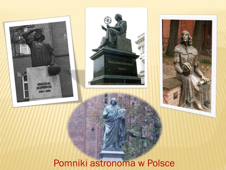 Pomniki astronoma w Polsce