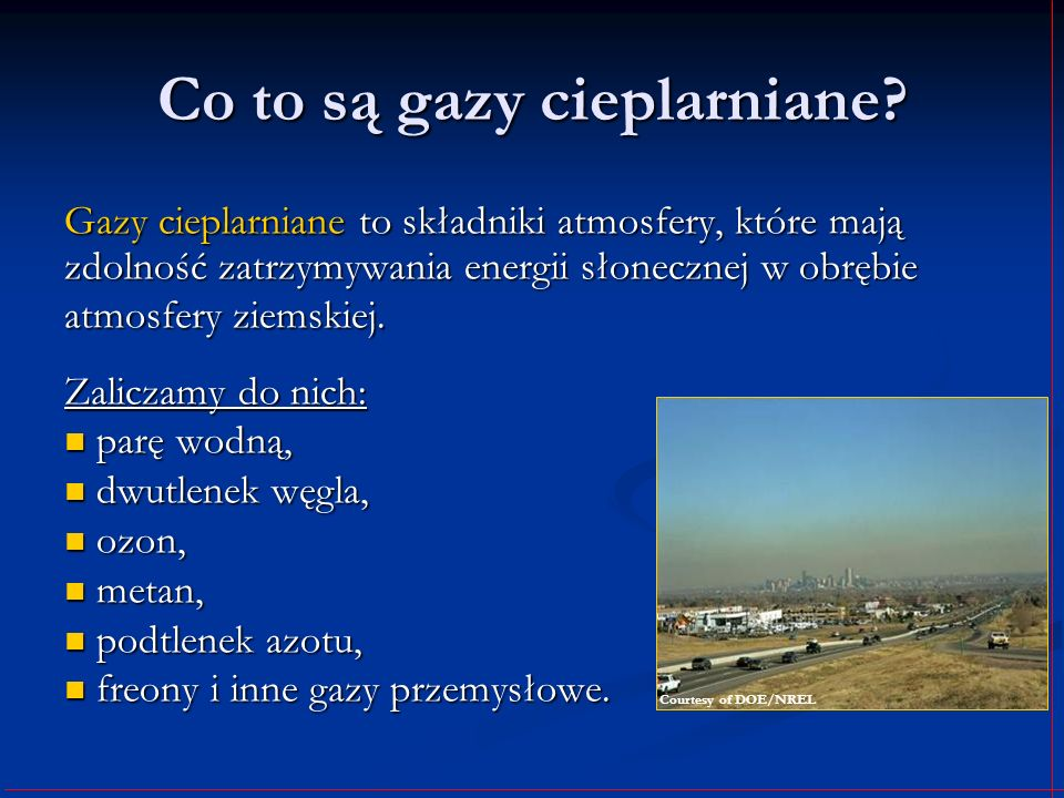 Co to są gazy cieplarniane