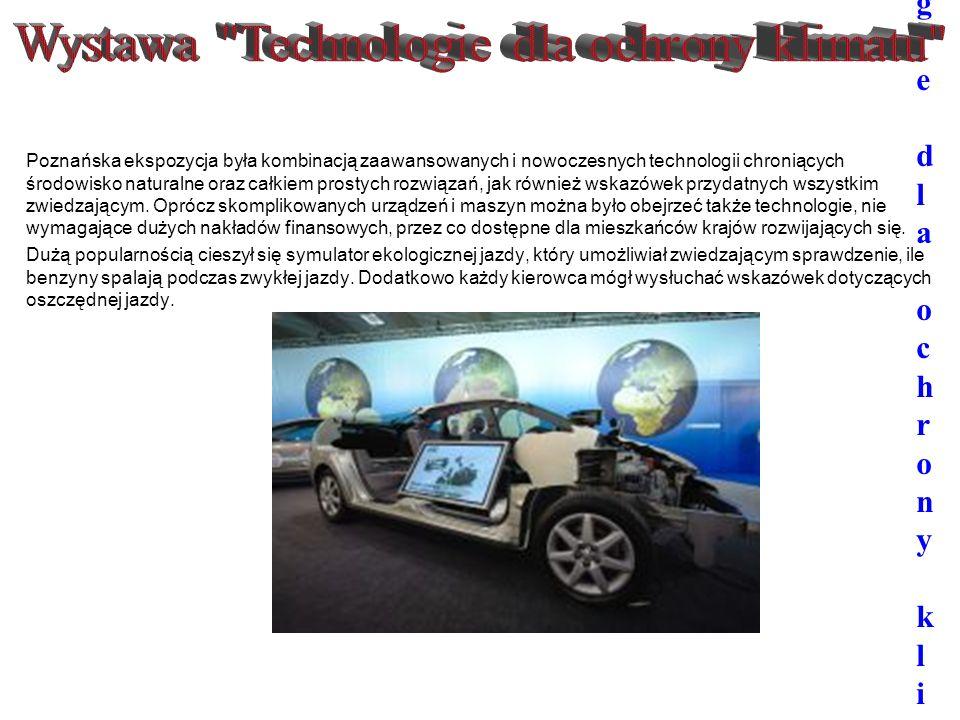 """Wystawa """"Technologie dla ochrony klimatu"""