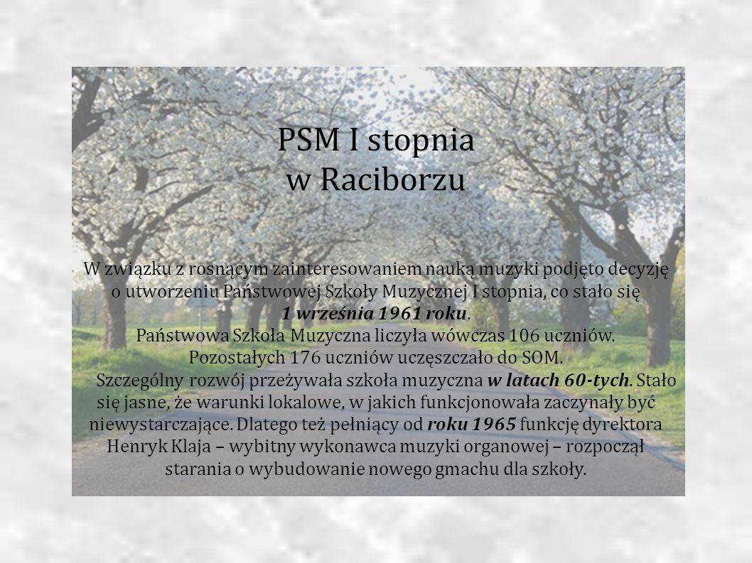 PSM I stopnia w Raciborzu