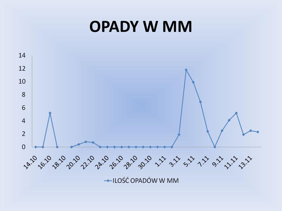 OPADY W MM
