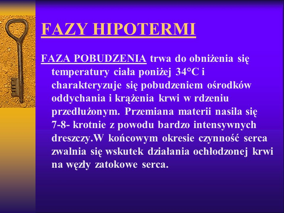 FAZY HIPOTERMI