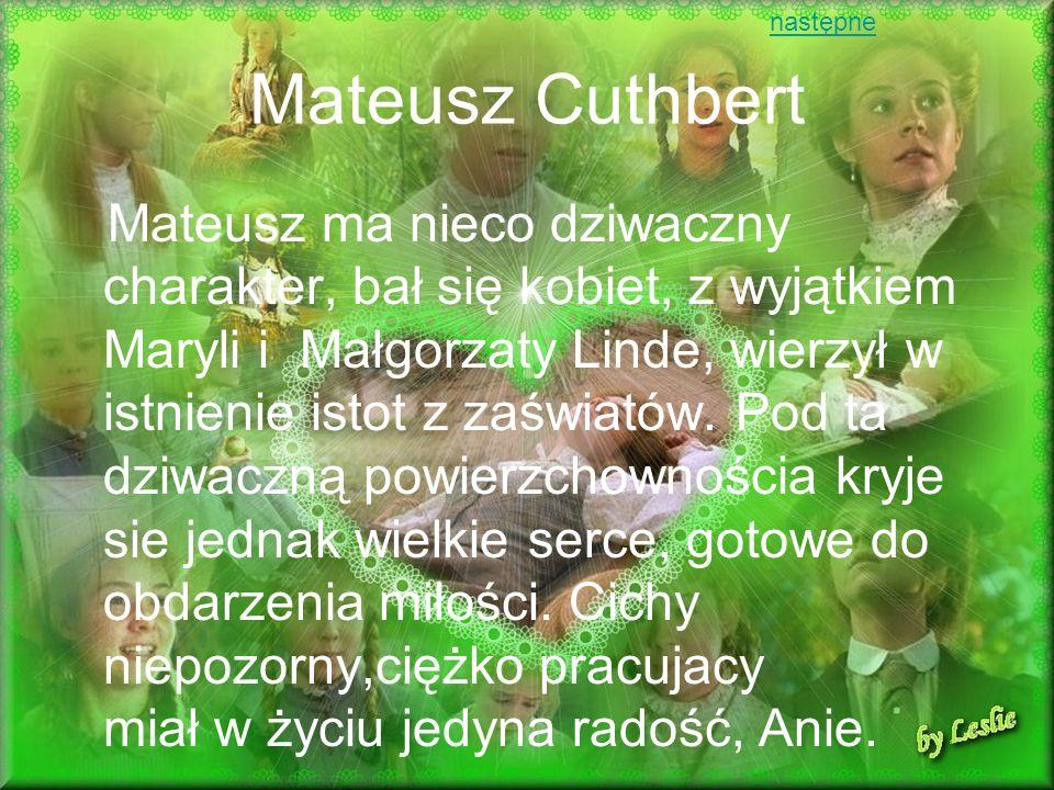 następneMateusz Cuthbert.