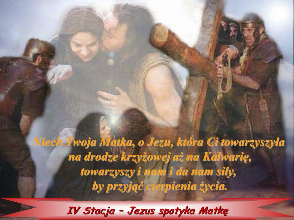 Niech Twoja Matka, o Jezu, która Ci towarzyszyła