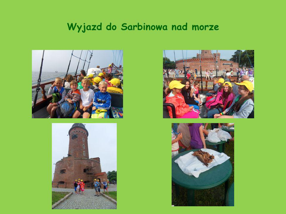 Wyjazd do Sarbinowa nad morze