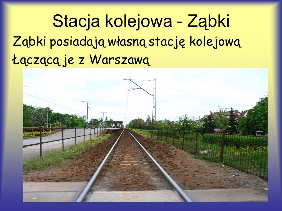 Stacja kolejowa - Ząbki