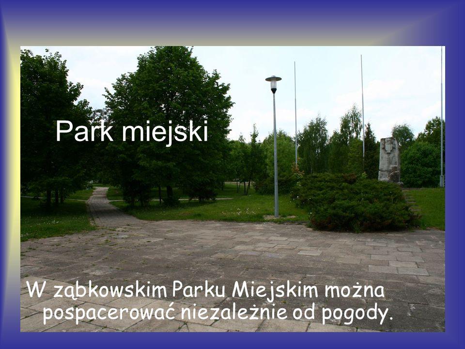 Park miejski W ząbkowskim Parku Miejskim można pospacerować niezależnie od pogody.