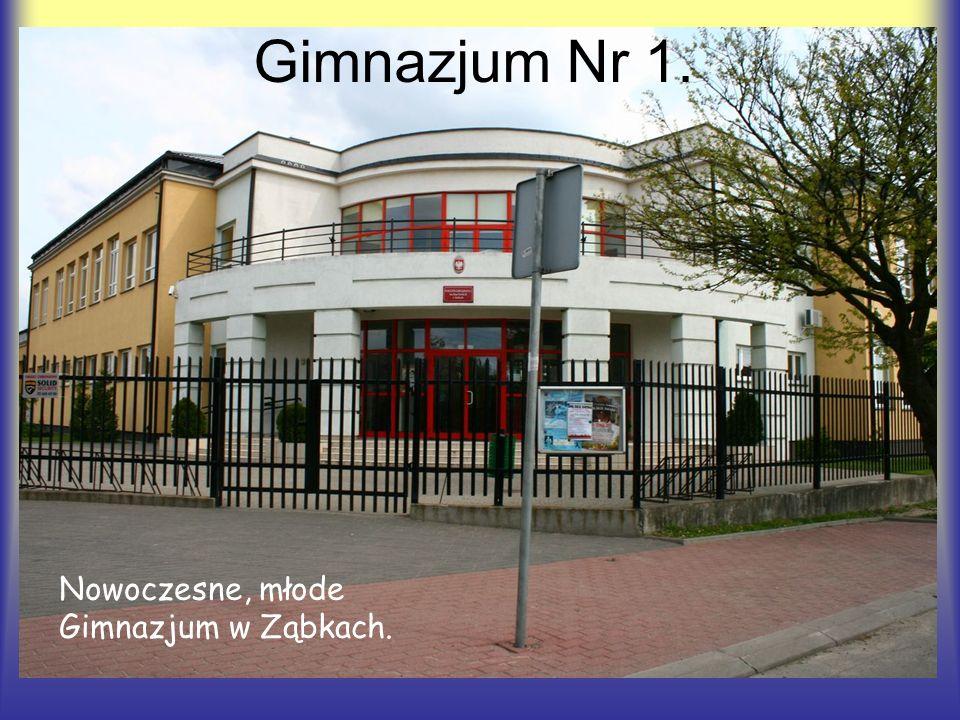 Gimnazjum Nr 1. Nowoczesne, młode Gimnazjum w Ząbkach.