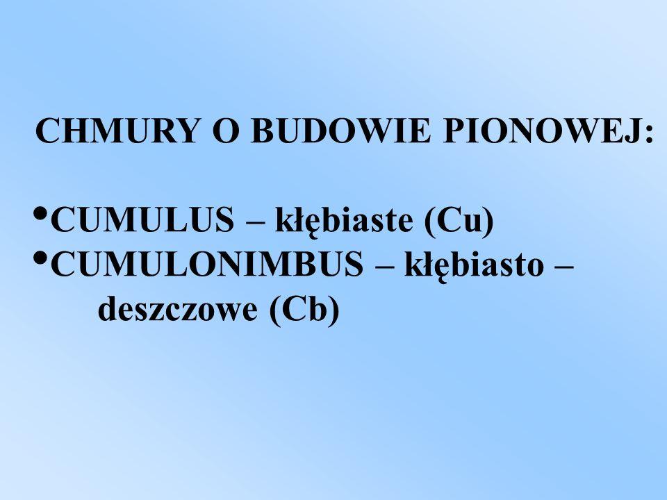 CHMURY O BUDOWIE PIONOWEJ: