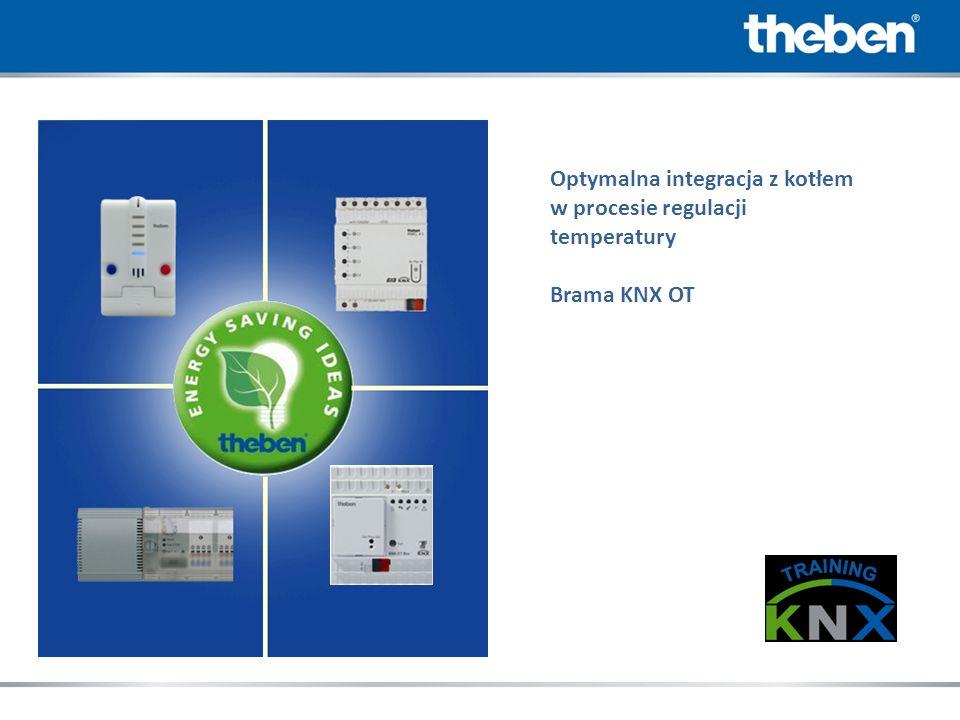 Optymalna integracja z kotłem w procesie regulacji temperatury Brama KNX OT