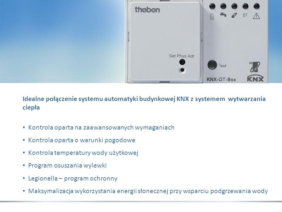 Idealne połączenie systemu automatyki budynkowej KNX z systemem wytwarzania ciepła
