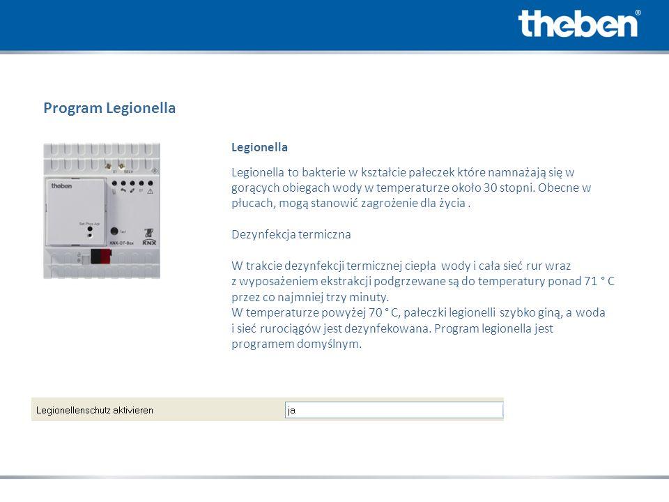 Program Legionella Legionella