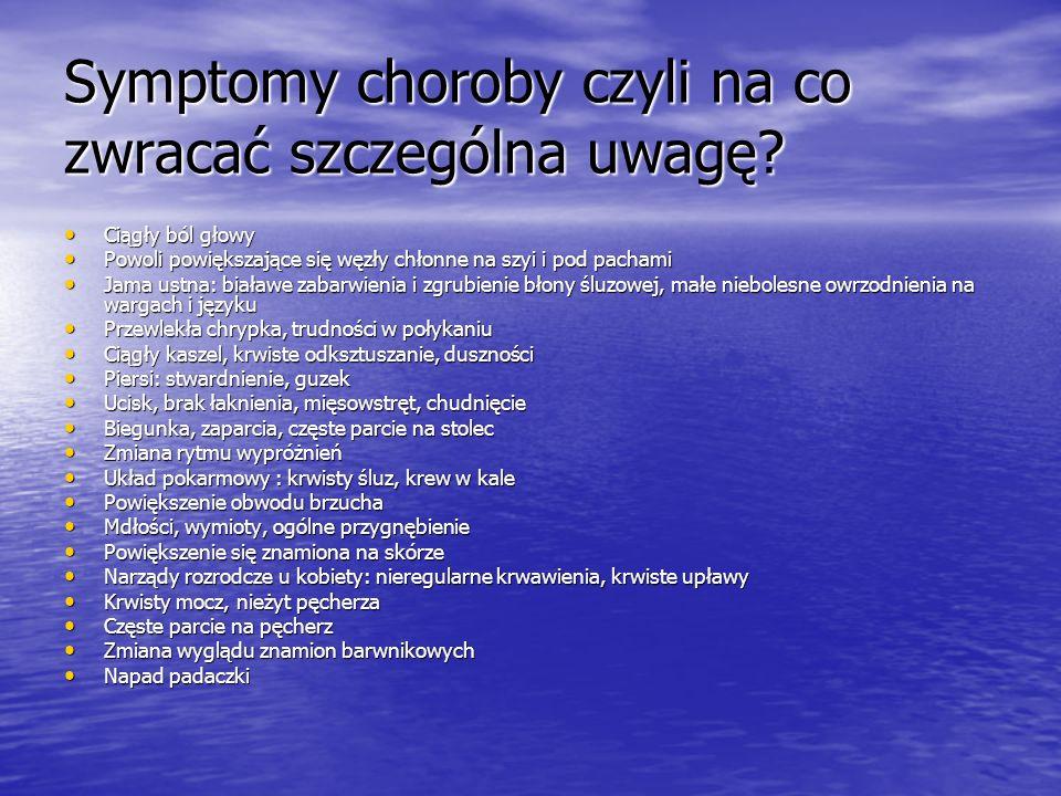 Symptomy choroby czyli na co zwracać szczególna uwagę