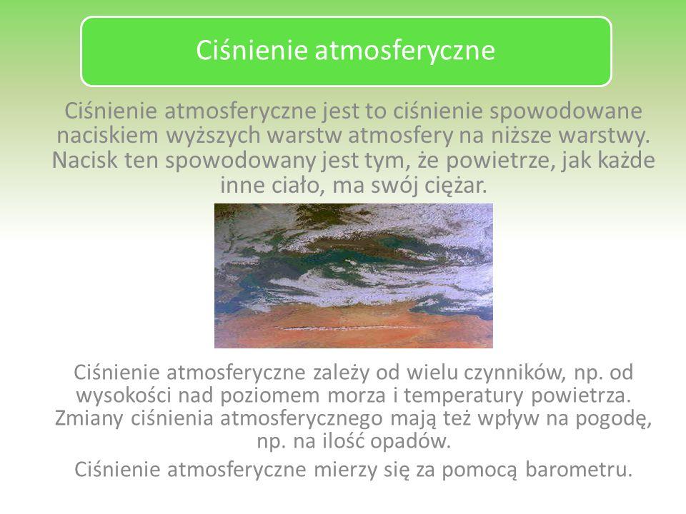 Ciśnienie atmosferyczne