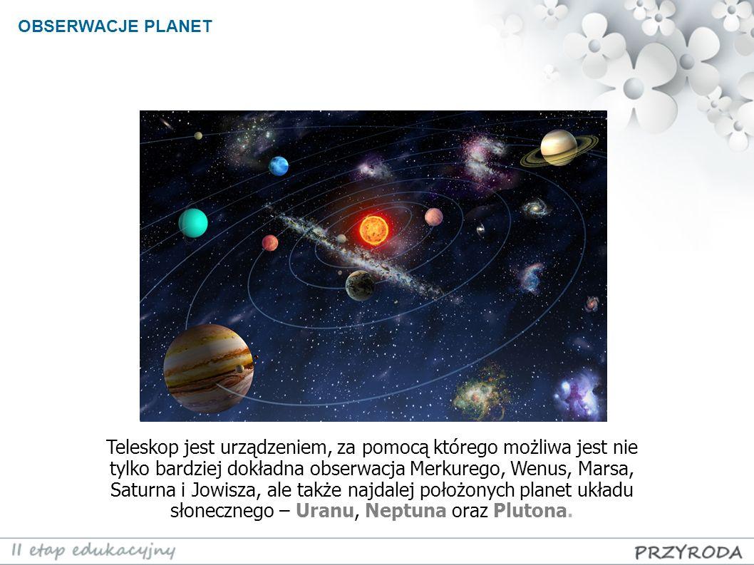 OBSERWACJE PLANET