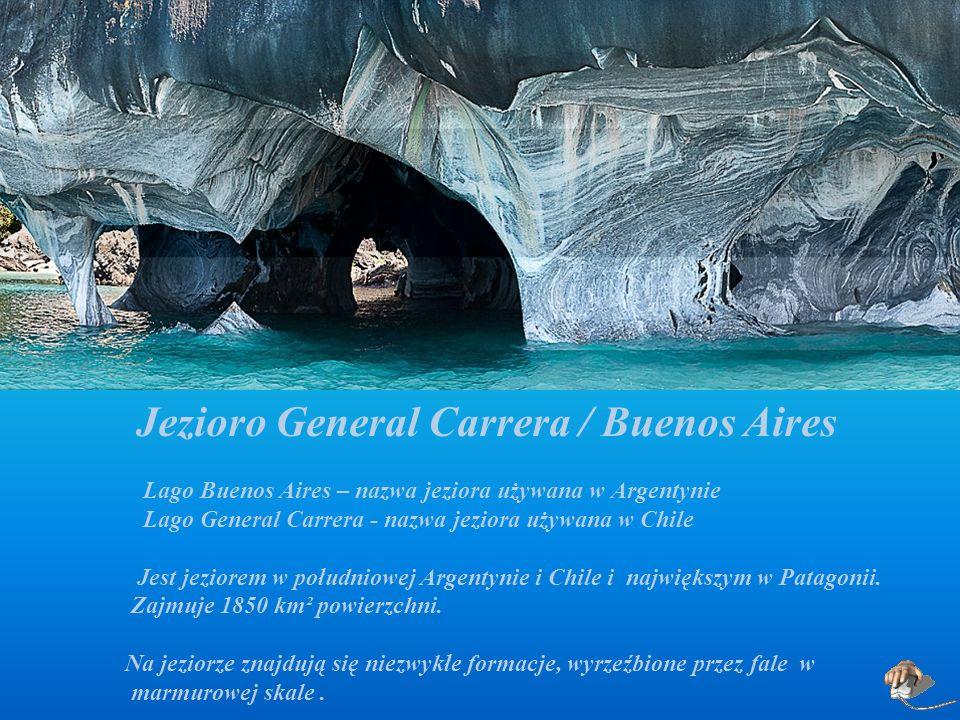 Jezioro General Carrera / Buenos Aires