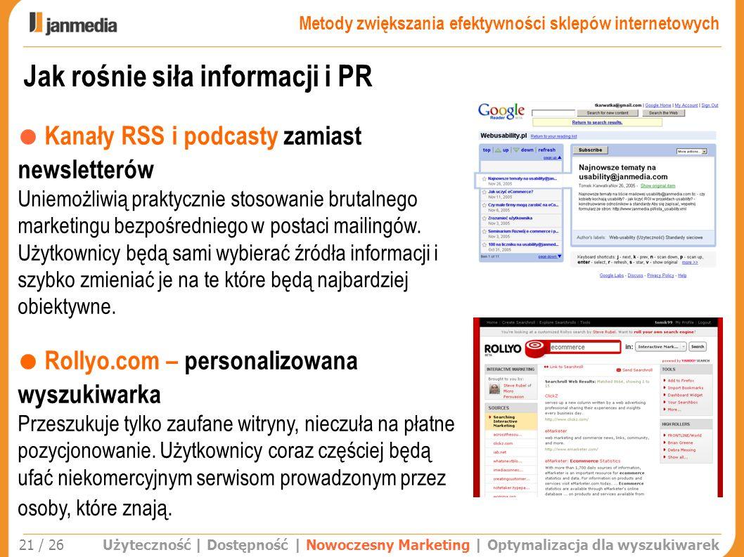 Jak rośnie siła informacji i PR