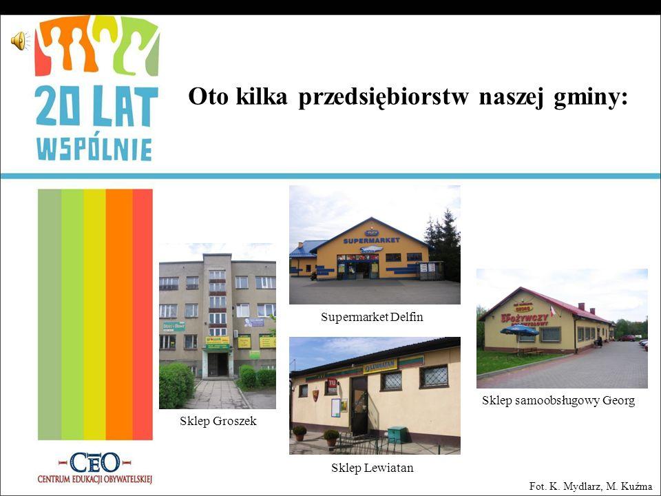 Oto kilka przedsiębiorstw naszej gminy: