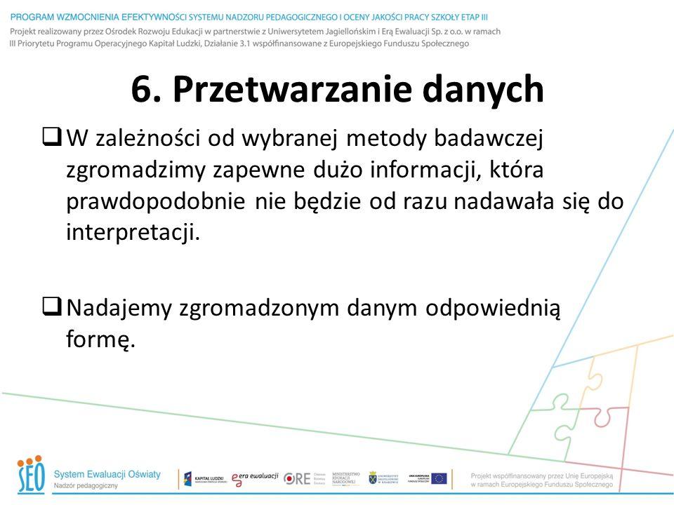 6. Przetwarzanie danych
