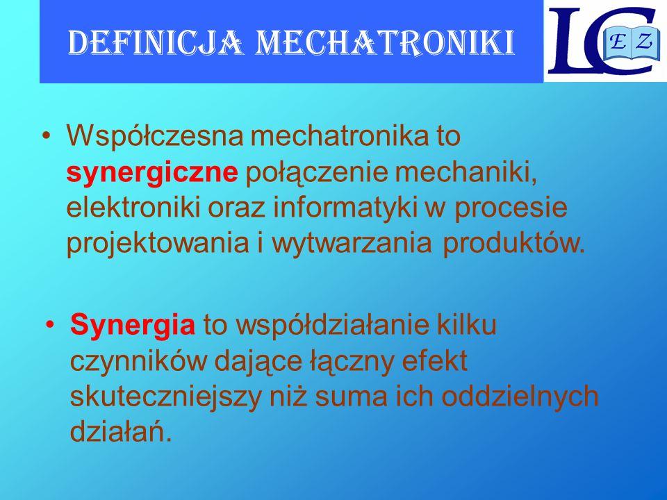 Definicja mechatroniki