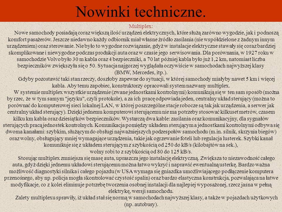 Nowinki techniczne. Multiplex: