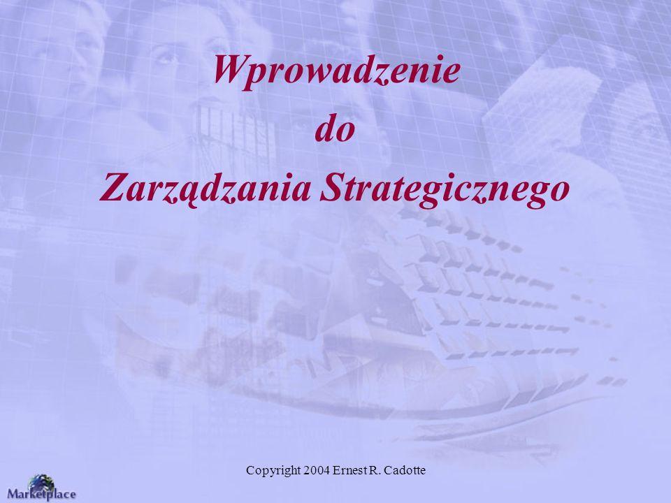 Wprowadzenie do Zarządzania Strategicznego