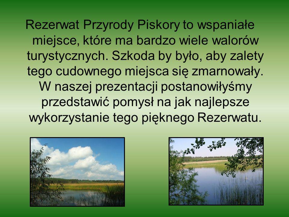 Rezerwat Przyrody Piskory to wspaniałe miejsce, które ma bardzo wiele walorów turystycznych.