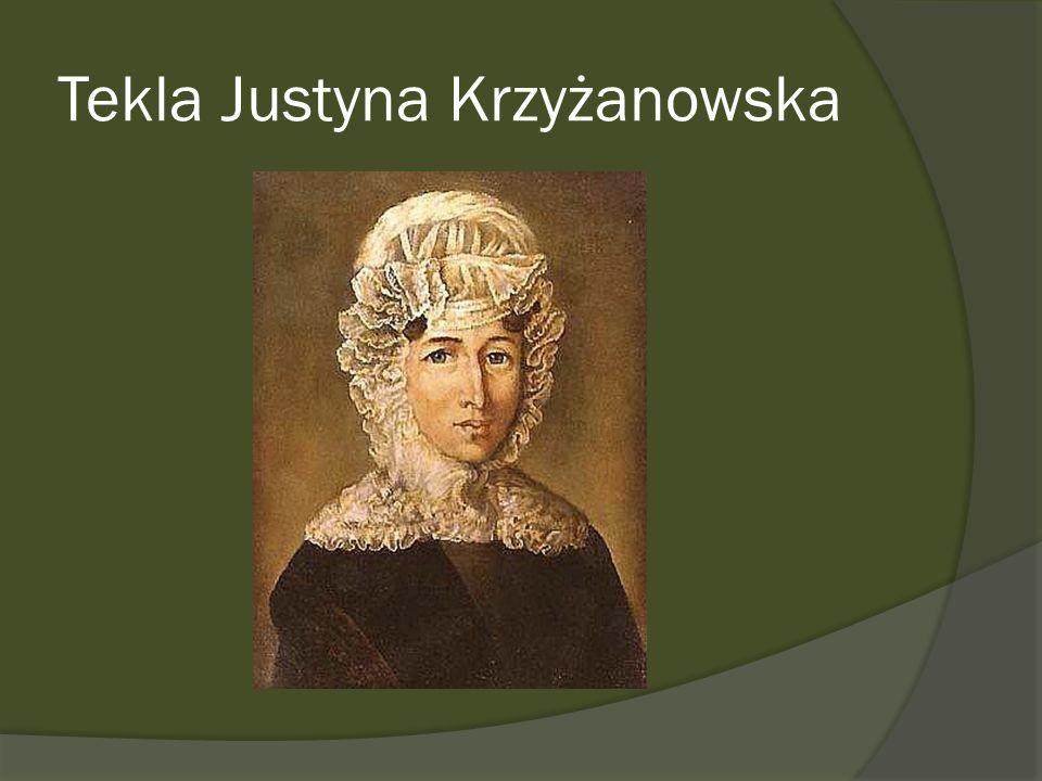 Tekla Justyna Krzyżanowska