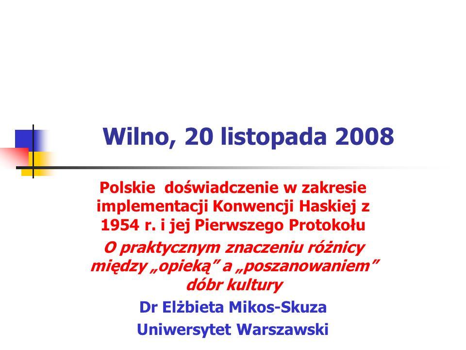 Dr Elżbieta Mikos-Skuza Uniwersytet Warszawski