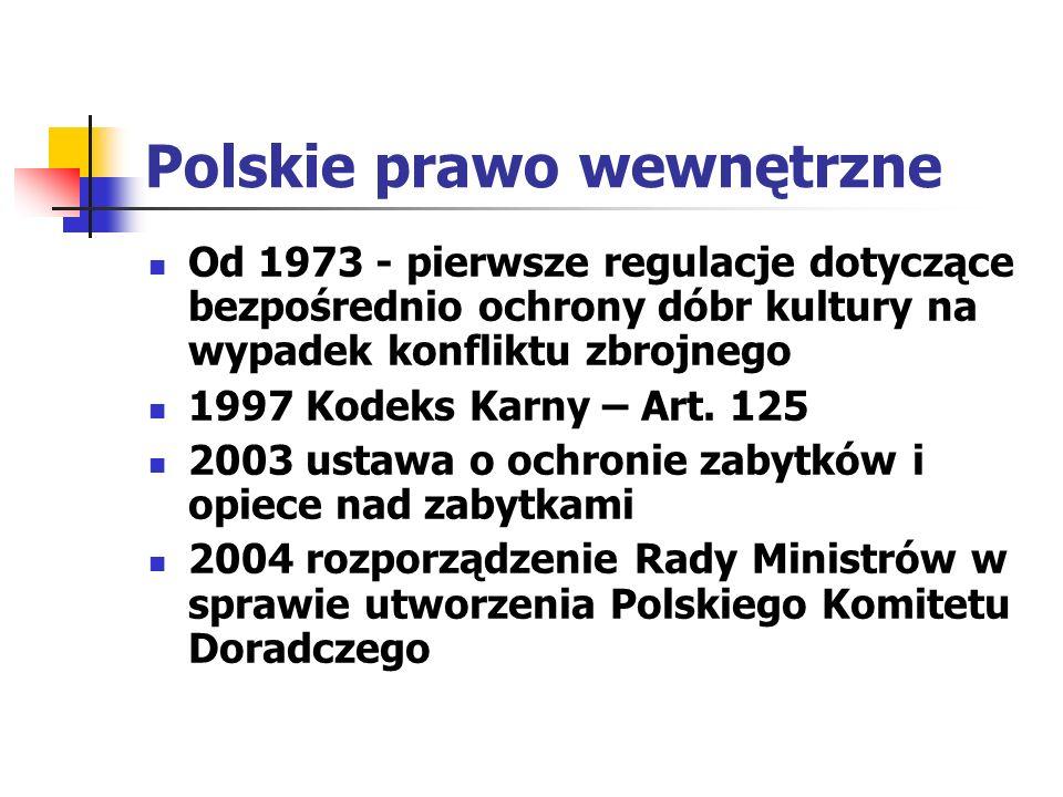 Polskie prawo wewnętrzne