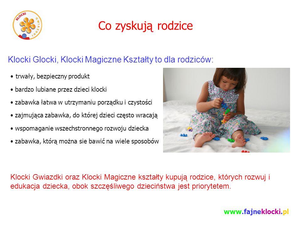 Co zyskują rodzice Klocki Glocki, Klocki Magiczne Kształty to dla rodziców: trwały, bezpieczny produkt.