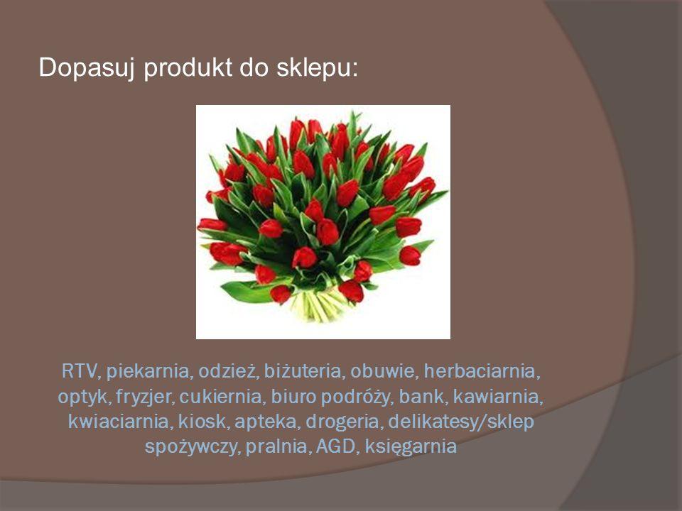 Dopasuj produkt do sklepu:
