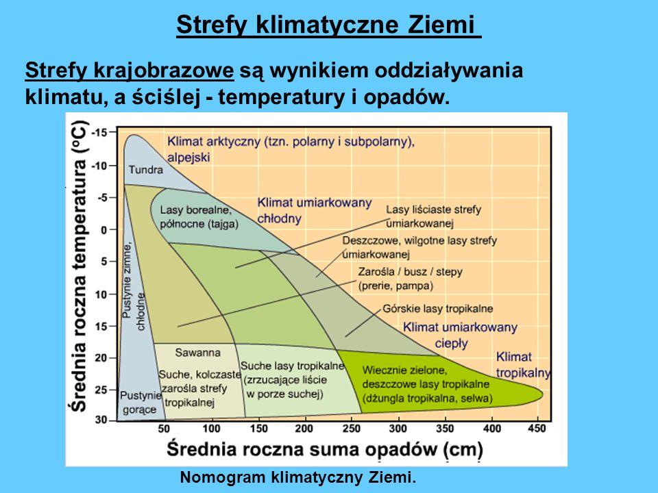 Strefy klimatyczne Ziemi
