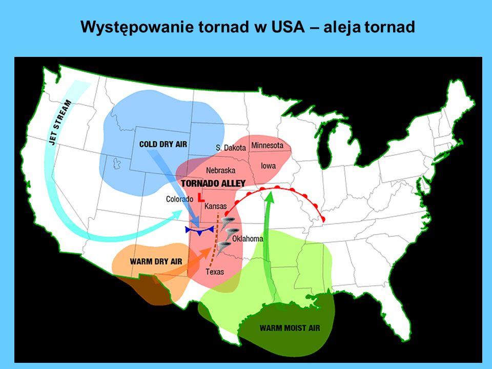 Występowanie tornad w USA – aleja tornad