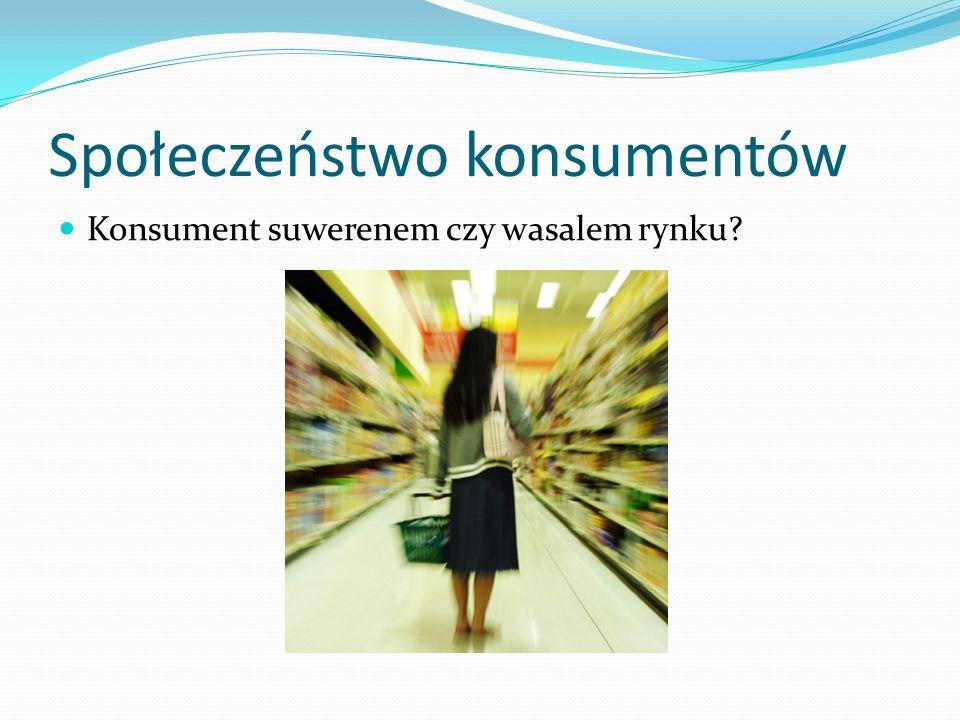 Społeczeństwo konsumentów