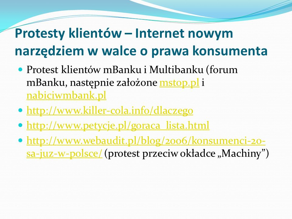 Protesty klientów – Internet nowym narzędziem w walce o prawa konsumenta