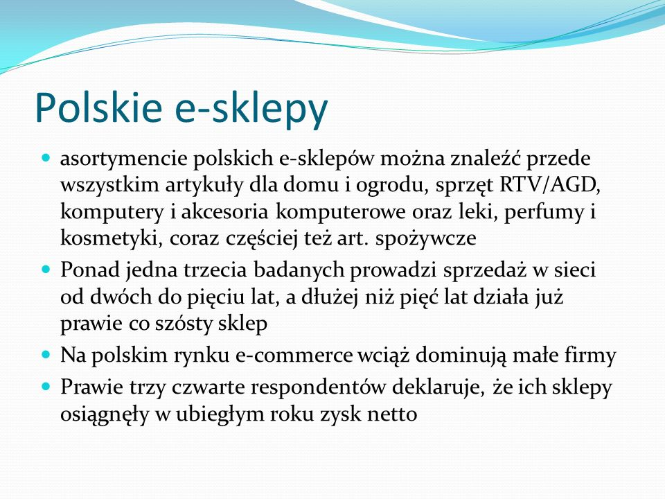 Polskie e-sklepy