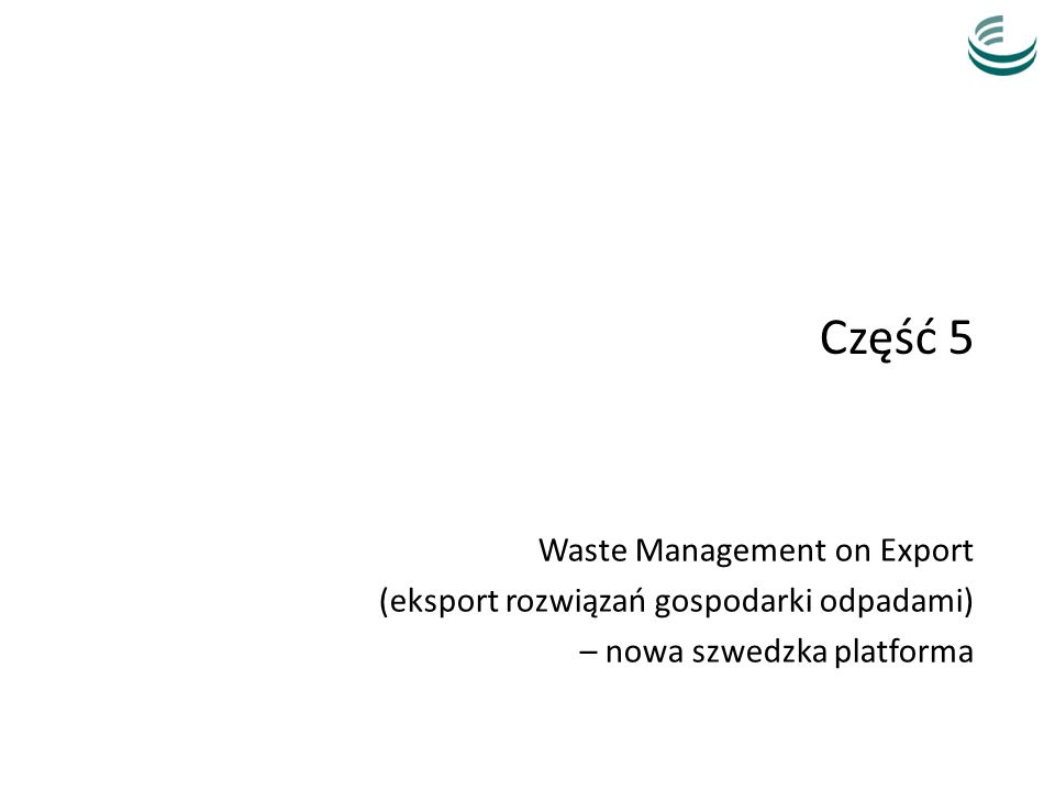 Część 5 Waste Management on Export