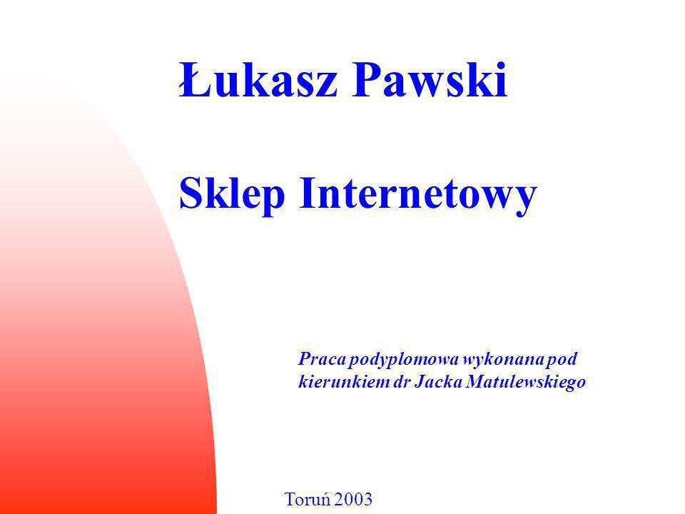 Łukasz Pawski Sklep Internetowy