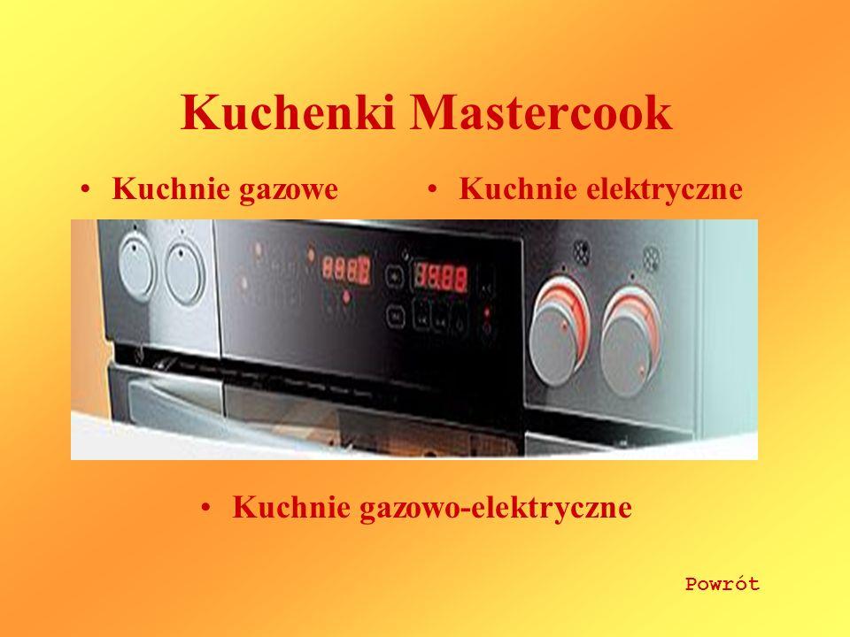 Kuchenki Mastercook Kuchnie gazowe Kuchnie elektryczne