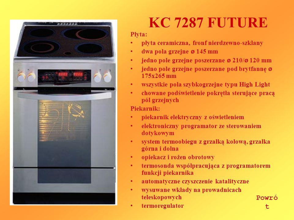 KC 7287 FUTURE Powrót Płyta: