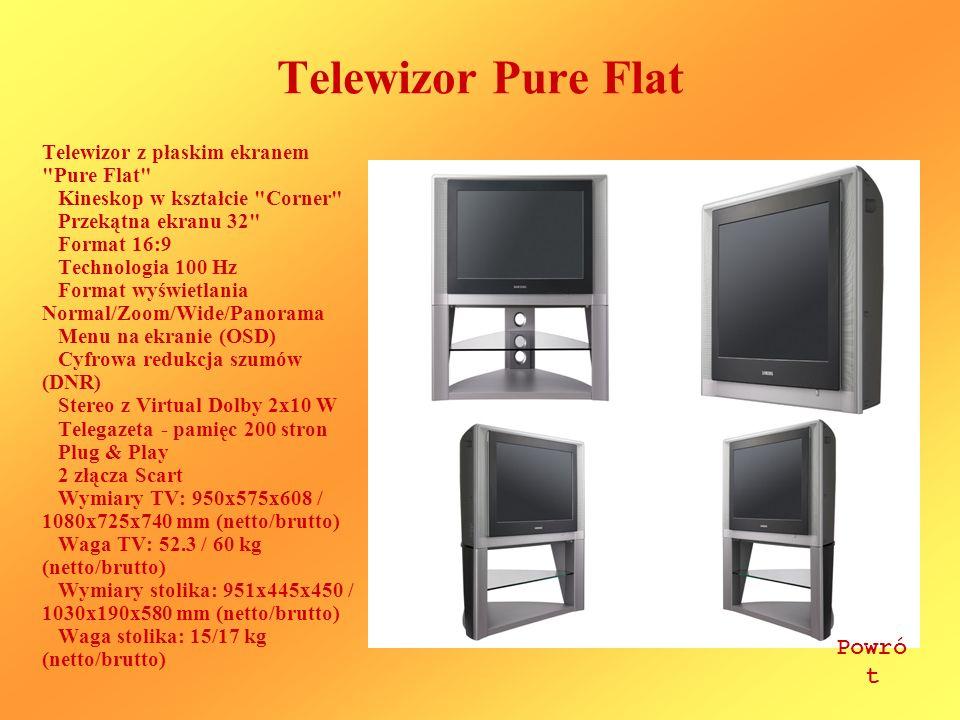 Telewizor Pure Flat Powrót