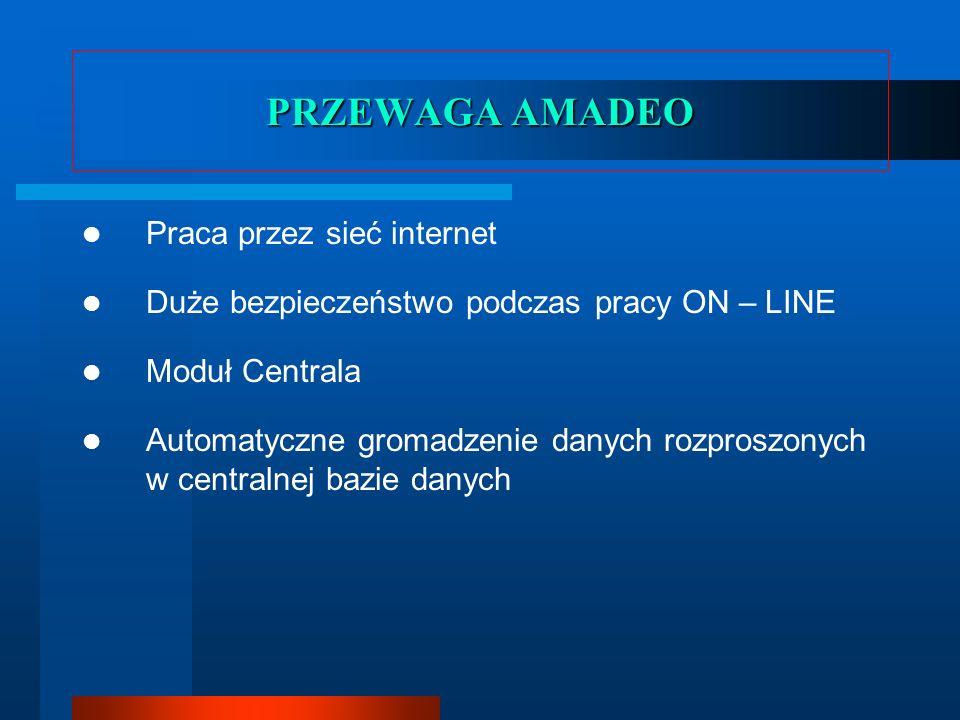 PRZEWAGA AMADEO Praca przez sieć internet