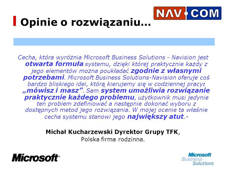 Michał Kucharzewski Dyrektor Grupy TFK,