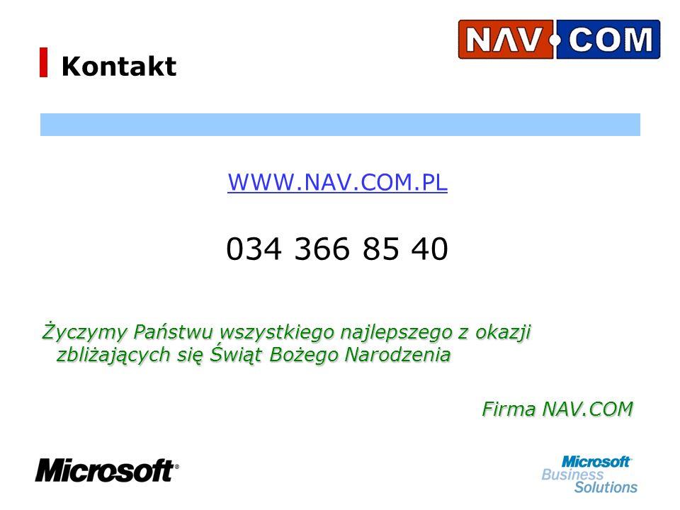 Kontakt WWW.NAV.COM.PL. 034 366 85 40. Życzymy Państwu wszystkiego najlepszego z okazji zbliżających się Świąt Bożego Narodzenia.