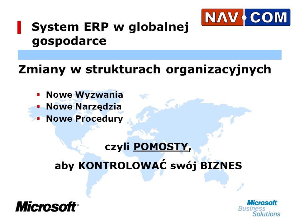 System ERP w globalnej gospodarce