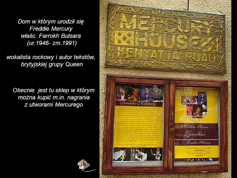 Dom w którym urodził się Freddie Mercury właśc. Farrokh Bulsara