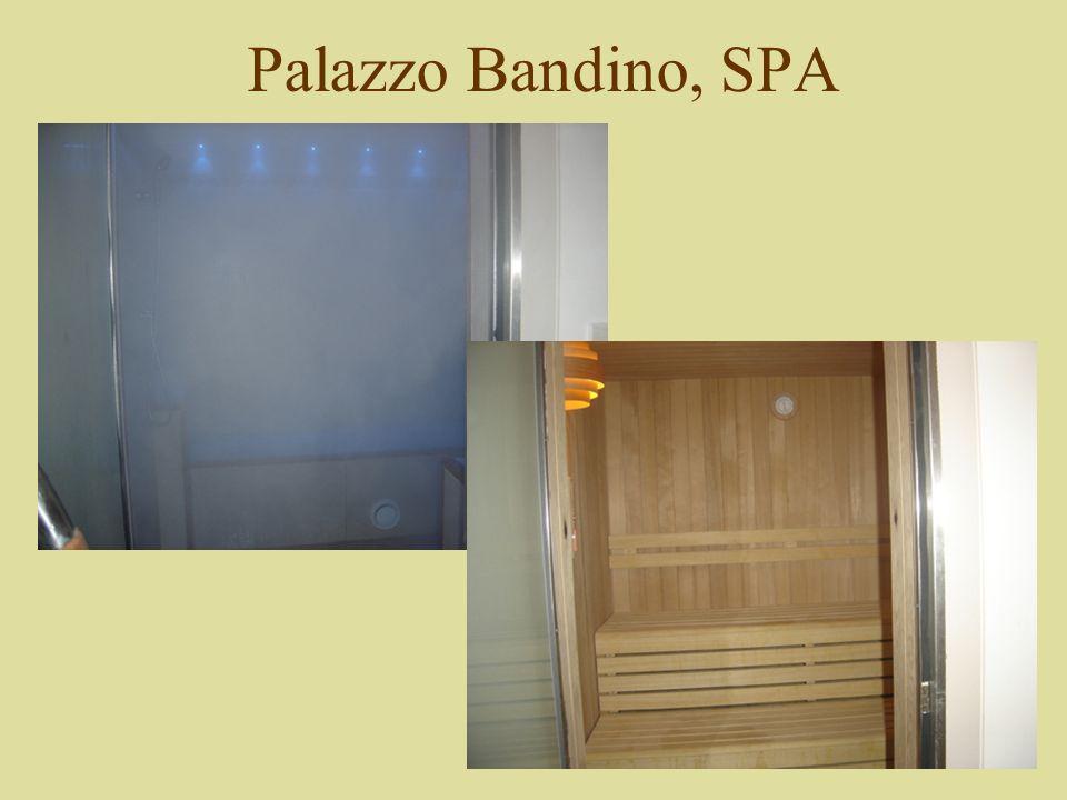 Palazzo Bandino, SPA