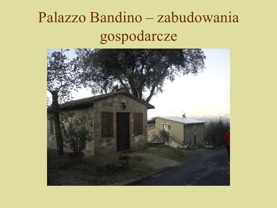 Palazzo Bandino – zabudowania gospodarcze